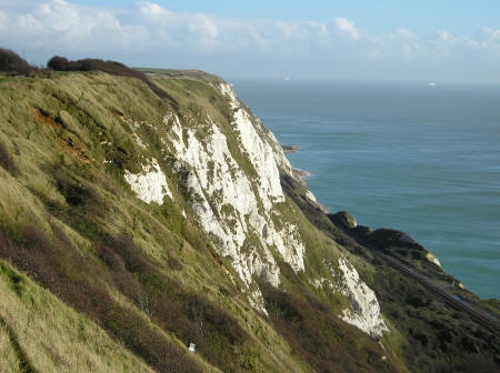 White Cliffs of Dover, Kent England