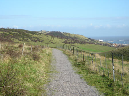 Hiking Trails near Folkestone Kent